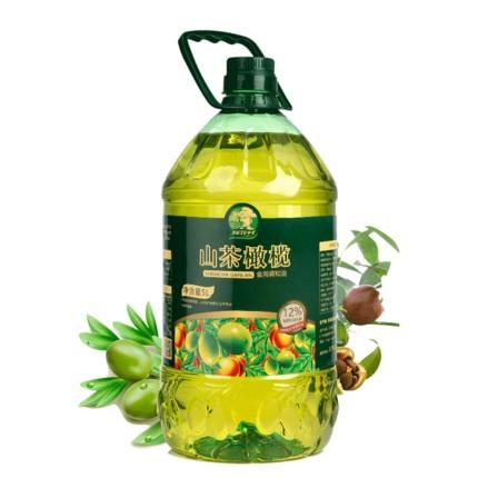 探花村 山茶橄榄油 食用调和油5L