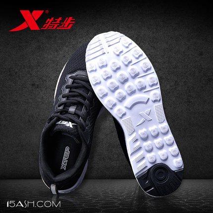 特步 新款网面休闲鞋运动鞋