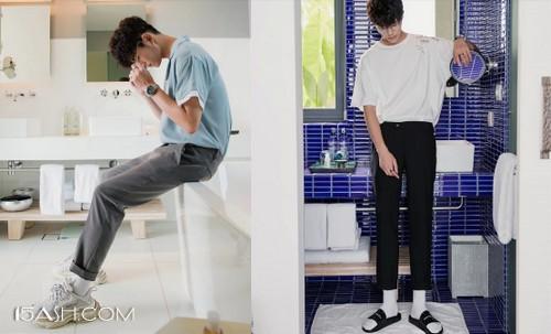 oversize T恤+休闲裤