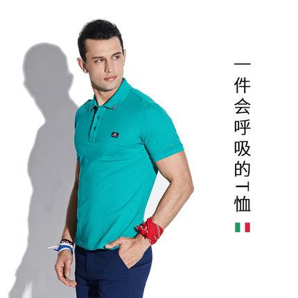 乔瓦德罗 男士纯棉短袖POLO衫