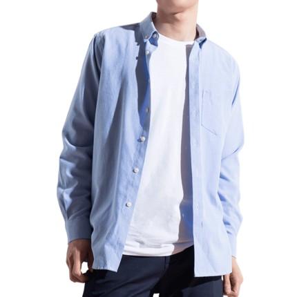 梵杉 男士牛津纺衬衫