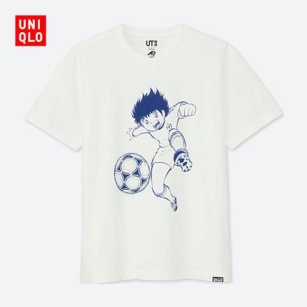优衣库 JUMP 50th 印花T恤短袖
