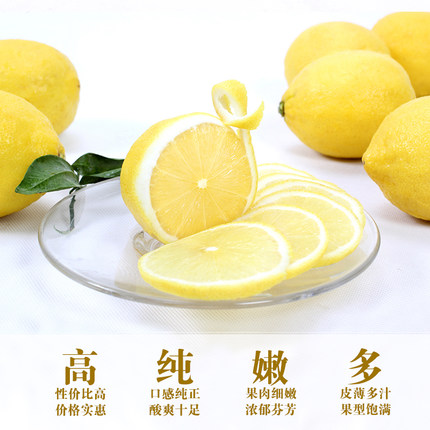 四川安岳 尤力克黄柠檬