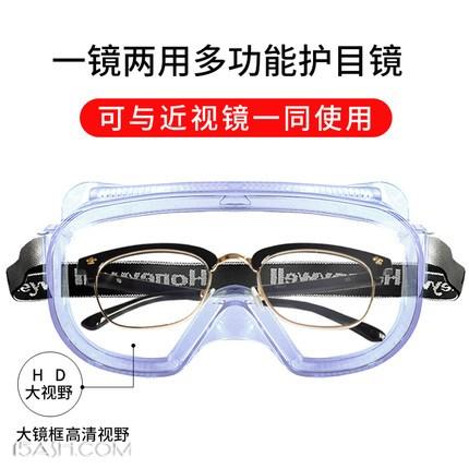 霍尼韦尔防风沙防尘护目镜