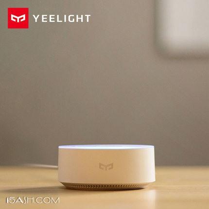 Yeelight智能语音助手 小爱小冰双AI系统 WIFI音箱