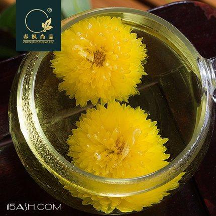 春枫尚品徽州大黄菊花茶约30克,菊香浓郁