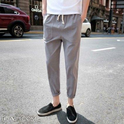 休闲裤,一条简单更帅的裤装