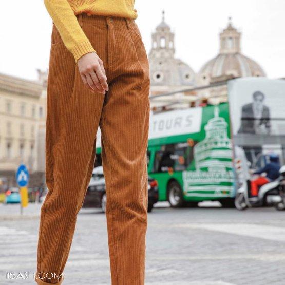 哈伦裤和低腰裤