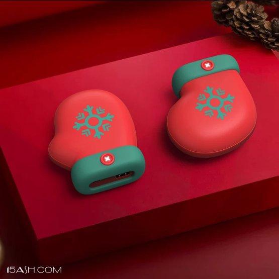 圣诞USB充电暖手宝