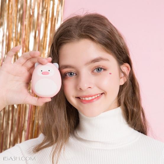猪猪粉色暖手宝