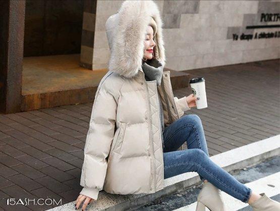 冬天羽绒服搭配这件单品,一点也不显胖!