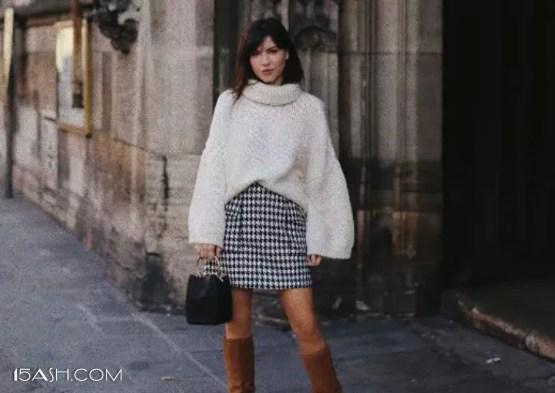 矮萌妹冬季穿搭小技巧,显高显瘦又时尚