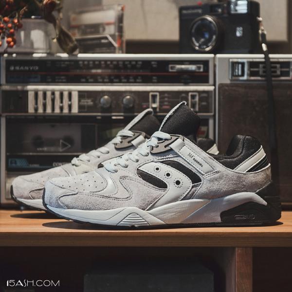 361度熊猫鞋减震反绒皮阿甘跑步鞋