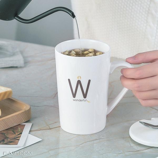 创意水杯情侣咖啡杯马克杯,送朋友简约礼物
